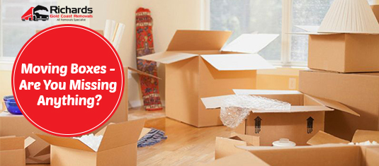 Moving Boxes - Are You Missing Anything