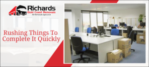 Quick office removals