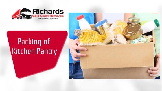 Packing of Kitchen Pantry